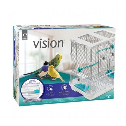 Hagen Vision Bird Cage for Small Birds S01 83200 47.5 x 37 x 51 cm