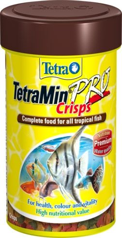 TetraMin Pro Crisps - Tropical fish food 250ml