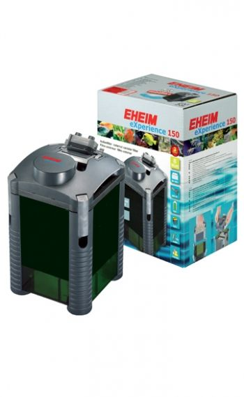 Eheim eXperience 150 2422020- External filter for aquariums up to 150L with filler substrate and mushrooms
