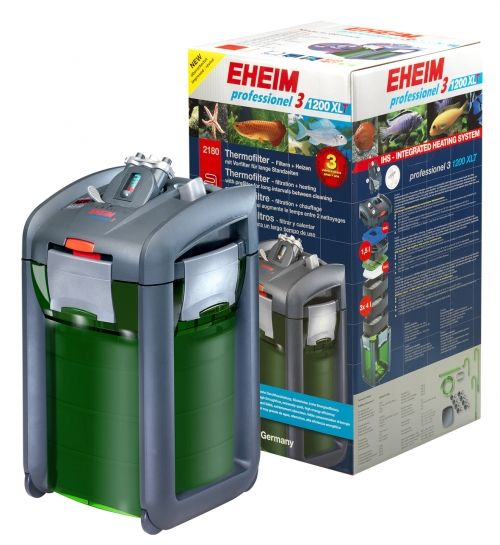 Eheim Professionel Thermofilter 3 1200XLT 2180010- External filter for aquariums up to 1200L without filler