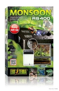 Exo Terra Monsoon RS 400 PT-2495 - HIGH-PRESSURE MISTING SYSTEM