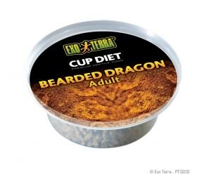 Exo Terra Cup Diets Adult Bearded Dragon Food PT-3200 360g