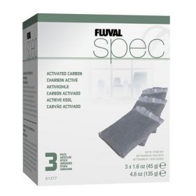 Hagen Fluval Spec Replacement Carbon 3 pack A1377