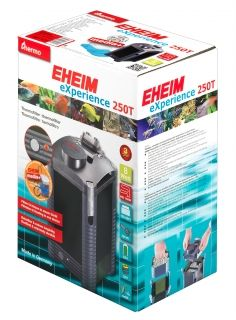 Eheim eXperience Thermofilter 250T 2124020 - External filter for aquariums up to 250L without filler